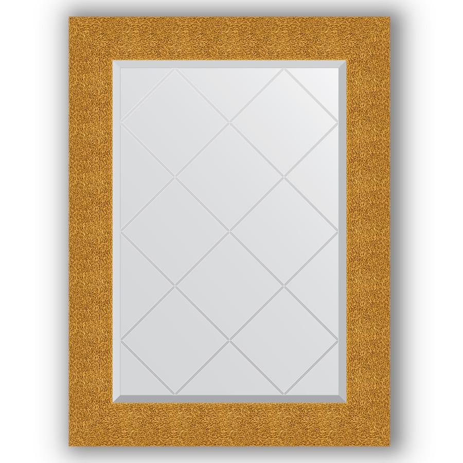 Зеркало 66х89 см чеканка золотая Evoform Exclusive-G BY 4108