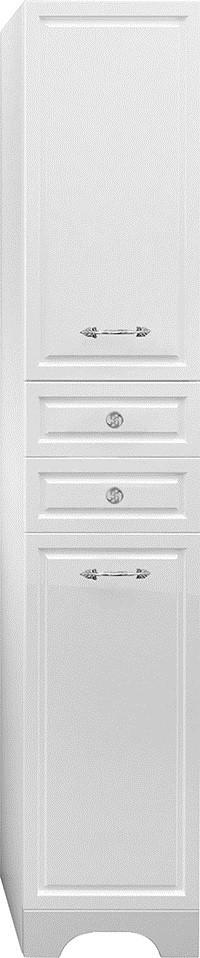 Пенал напольный белый глянец 1Marka Прованс У59770