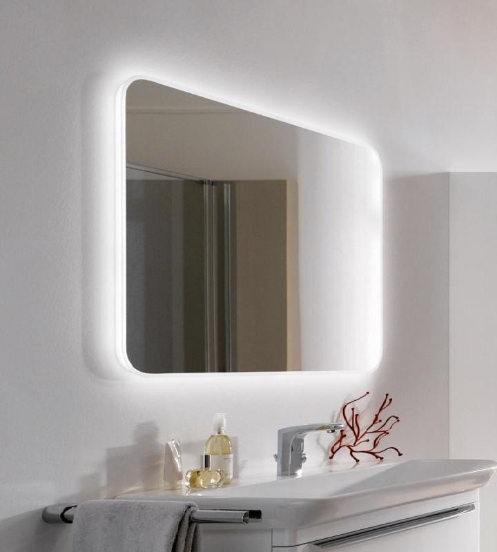 Зеркало с подсветкой 80х60 см Keramag myDay 824360000 зеркало keramag silk 816580000