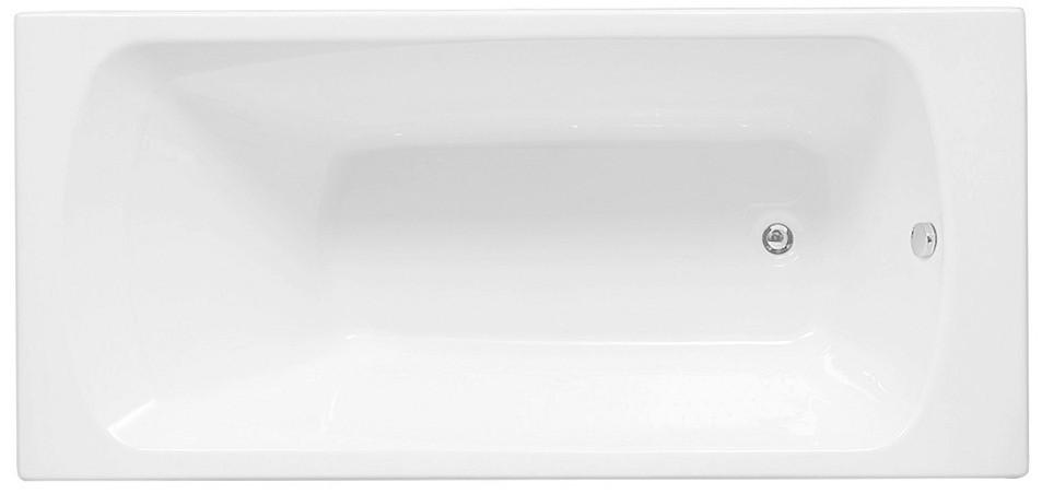 Акриловая ванна 169,4x69,5 см Aquanet Roma 00205375 ванна aquanet roma 170x70