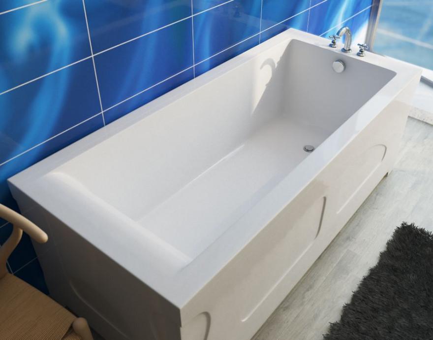 Ванна из литого мрамора 150х75 см Эстет Дельта FP00000639