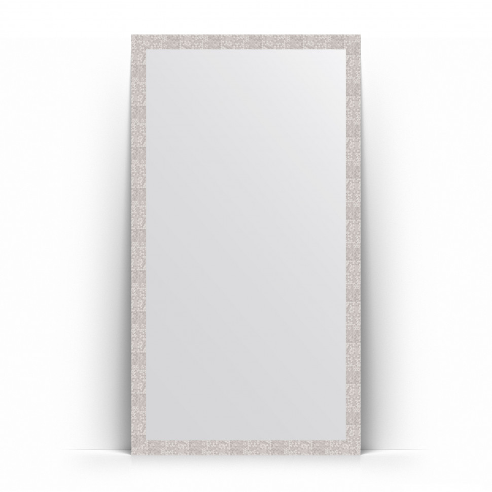 Зеркало напольное 108х197 см соты алюминий Evoform Definite Floor BY 6017 зеркало evoform definite 86х66 соты алюминий