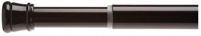 Карниз для ванной комнаты 104-190 см Carnation Home Fashions Standard Tension Rod Black TSR-16 цена
