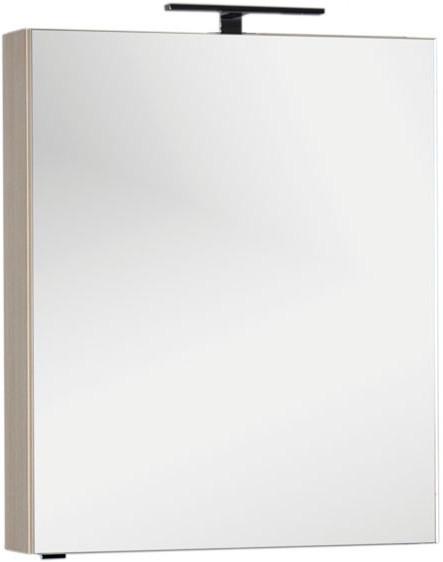 цена на Зеркальный шкаф 70х85 см ясень коимбра Aquanet Алвита 00183246