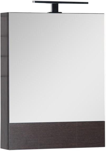 Зеркальный шкаф 50х67 см венге Aquanet Нота 00172682