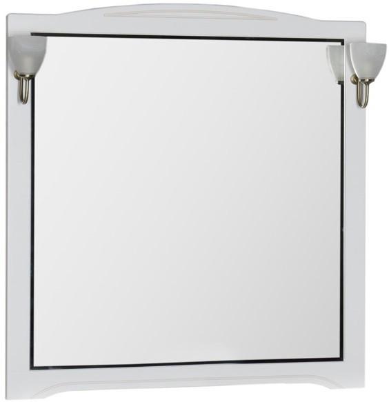 Зеркало 110х112 см белый Aquanet Луис 00173211 зеркало 80х112 см белый aquanet луис 00173217