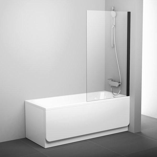 Шторка для ванны 80 см Ravak Pivot 79840300Z1 прозрачное недорого