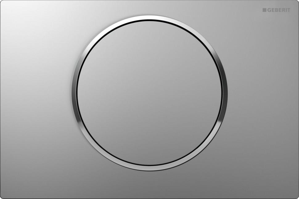 Фото - Смывная клавиша Geberit Sigma10 матовый хром/глянцевый хром/матовый хром для одинарного смыва 115.758.KN.5 смывная клавиша geberit sigma10 глянцевый хром матовый хром глянцевый хром для одинарного смыва 115 758 kh 5
