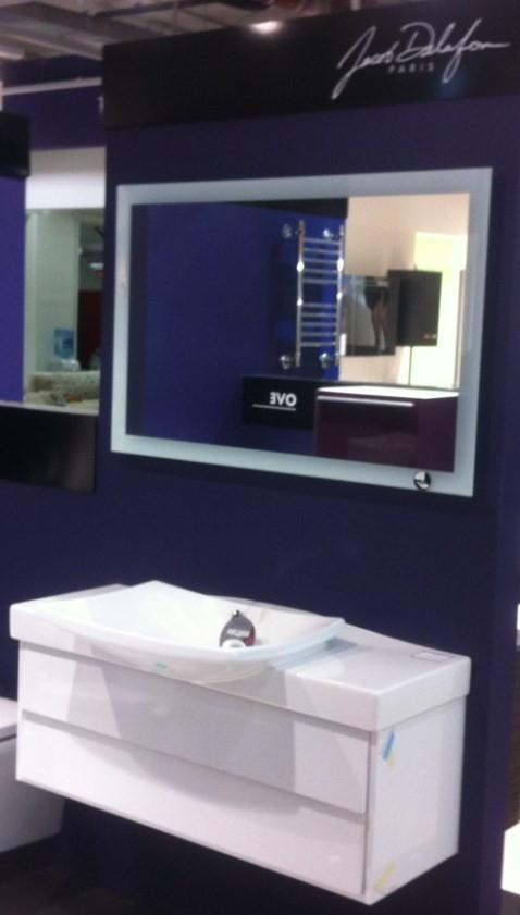 Зеркало с подсветкой по периметру 100*65 см Jacob Delafon Escale EB1442-NF