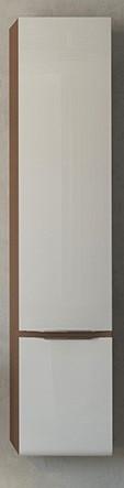 Пенал подвесной темный лен/белый Velvex Crystal Cub ppCUB.155-27.21