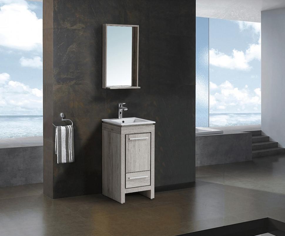 Комплект мебели дуб серебристый 41,2 см Black & White Country 040SK00 цена 2017