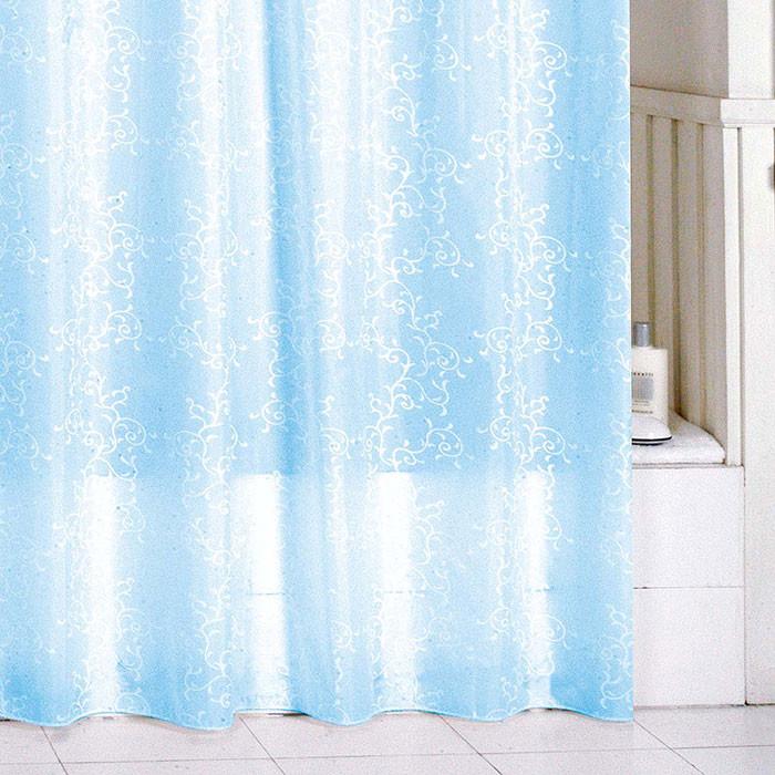 Штора для ванной комнаты Milardo Blue Leaf SCMI083P цена в Москве и Питере