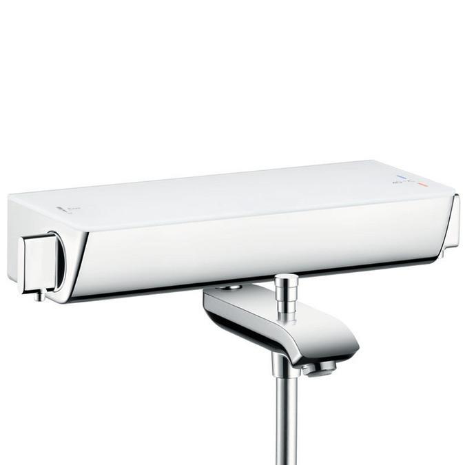 Термостат для ванны Hansgrohe Ecostat Select 13141400 смеситель для ванны hansgrohe ecostat 13141400