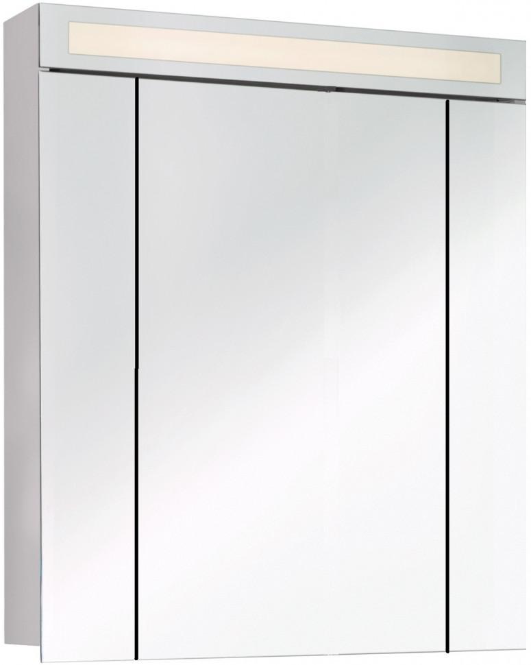 Зеркальный шкаф 80,4х82 см белый Dreja.rus Uni 99.9003 фото