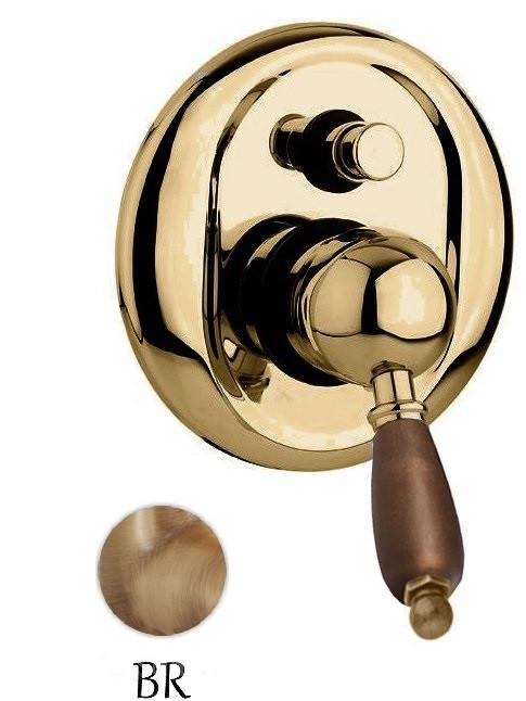 Фото - Смеситель для ванны бронза, ручка орех Cezares Elite ELITE-VDIM-02-Nc смеситель для раковины cezares elite elite lsm1 02 nc
