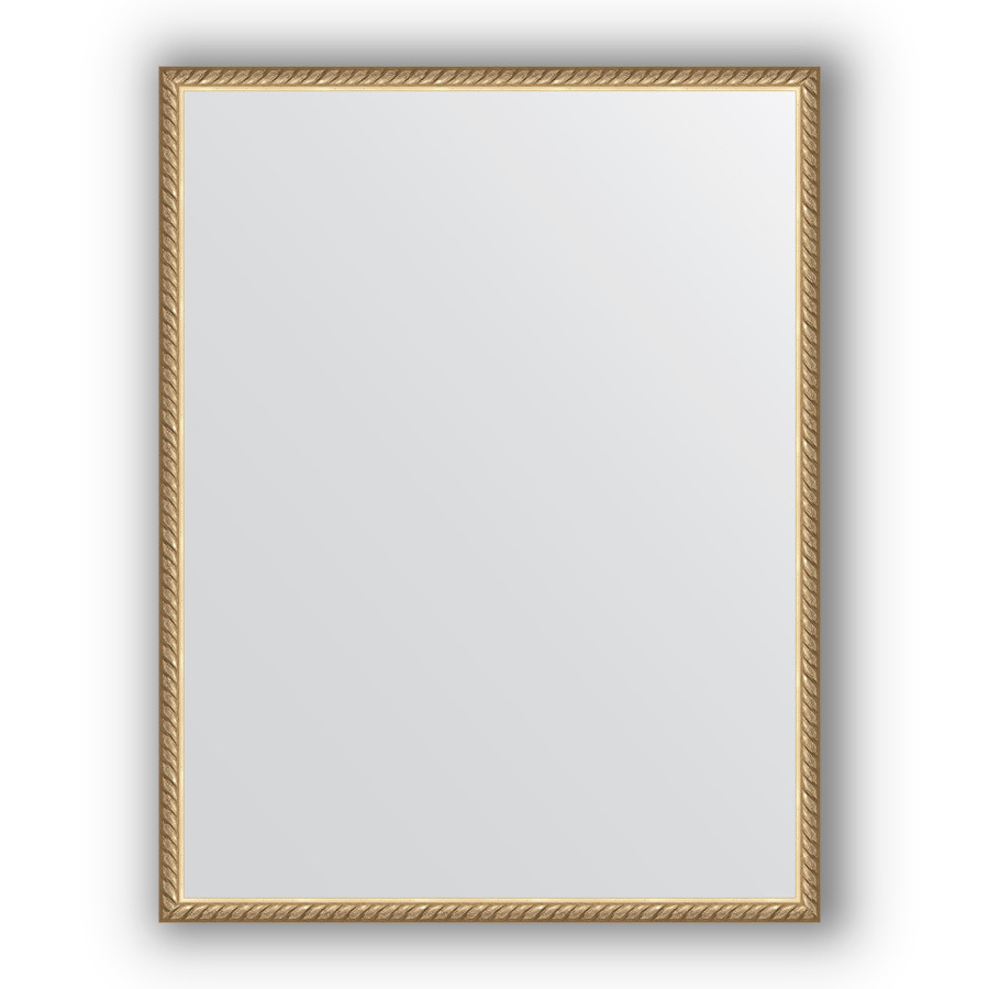 Зеркало 68х88 см витая латунь Evoform Definite BY 0686