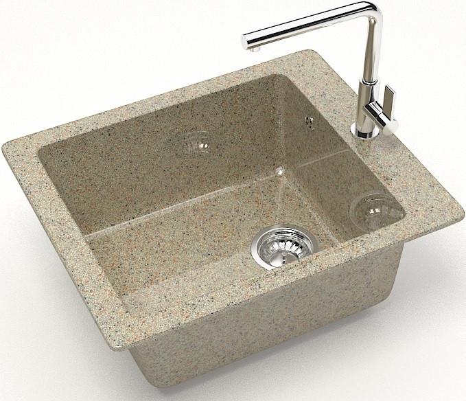 Кухонная мойка Marrbaxx Линди Z8 песочный глянец Z008Q005