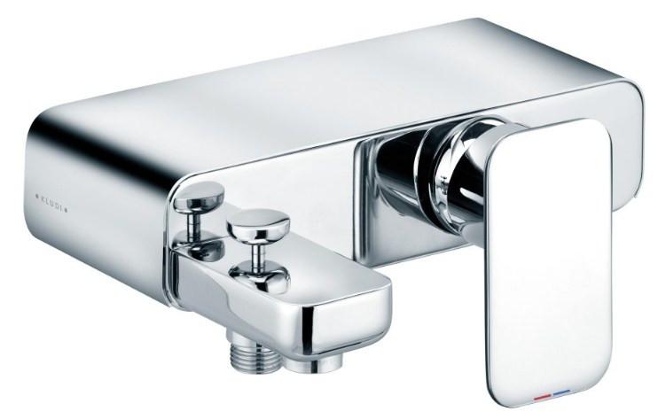 Смеситель для ванны Kludi E2 494450575 поручень для ванны kludi e2 хром 4998105