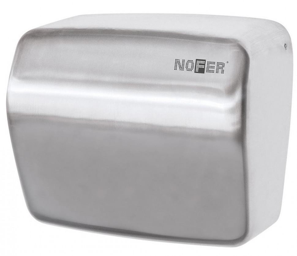 Сушилка для рук матовый хром Nofer Kai 01251.S автоматическая сушилка для рук nofer kai 1500 w глянцевая 01251 b