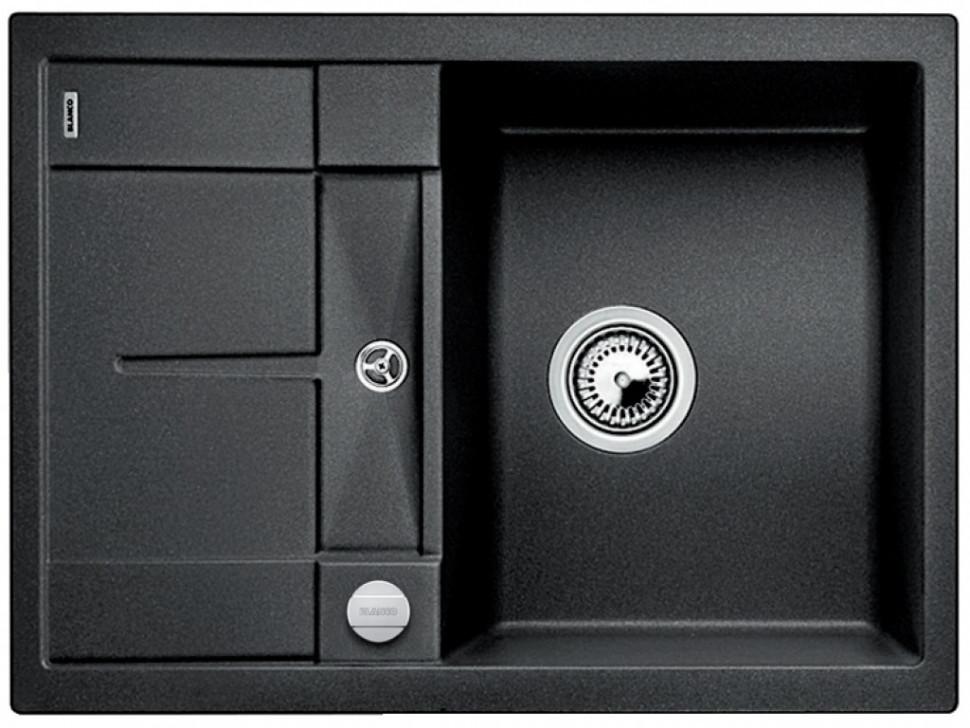 Кухонная мойка Blanco Metra 45S Compact антрацит 519572 фото