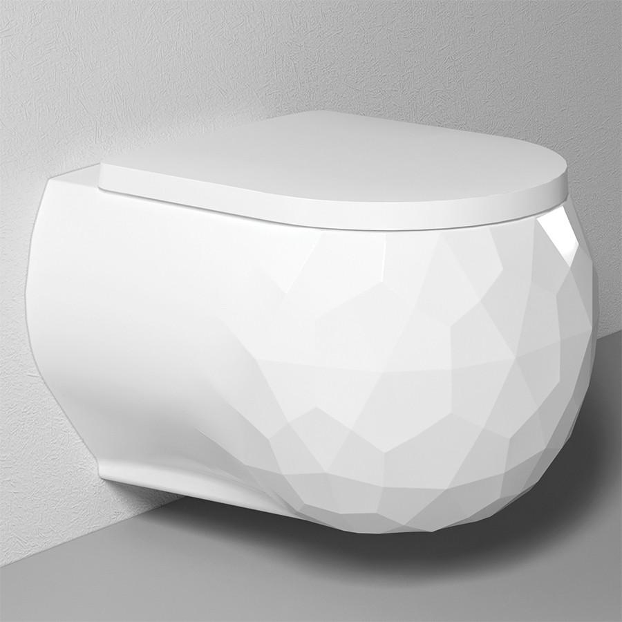 Фото - Подвесной безободковый унитаз с функцией биде с сиденьем микролифт Bien Pent PNKA052N1VP1W3000 унитаз подвесной belbagno amanda безободковый с сиденьем микролифт bb051chr bb051sc