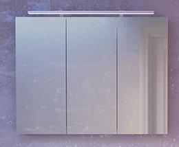 Зеркальный шкаф 98,6х75 см белый глянец Raval Great Gre.03.100/W