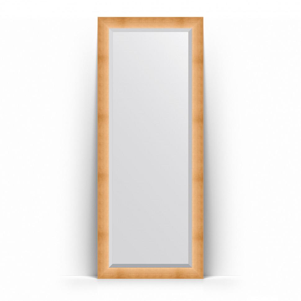 Фото - Зеркало напольное 81х201 см травленое золото Evoform Exclusive Floor BY 6116 зеркало напольное 81х201 см чеканка золотая evoform definite floor by 6008