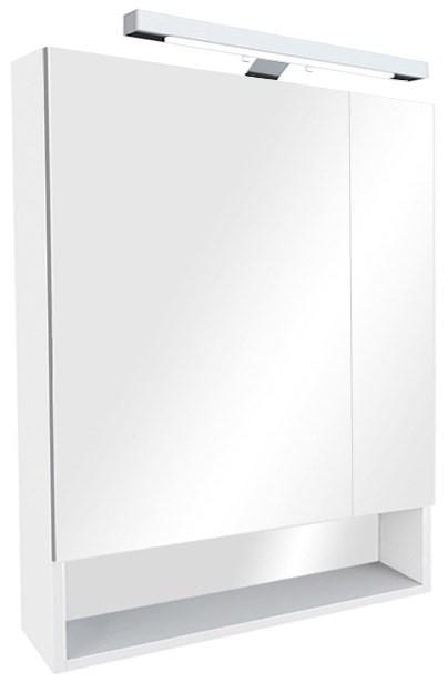 цена Зеркальный шкаф белый 70х85 см Roca The Gap ZRU9302749