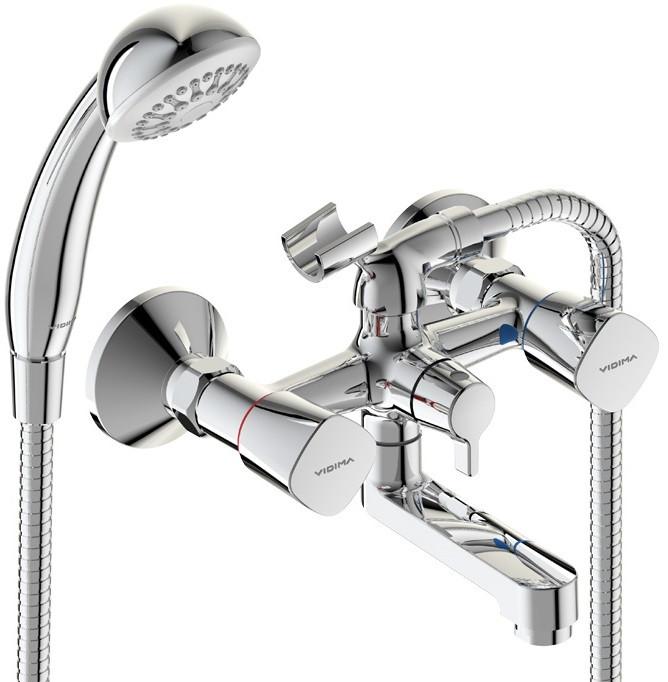 смеситель для ванны vidima seva light b8954aa Смеситель для ванны Vidima Quadro BA344AA