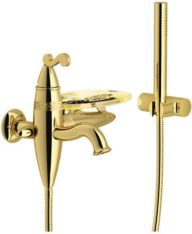 Смеситель для ванны Nobili Dubai DB00110GD
