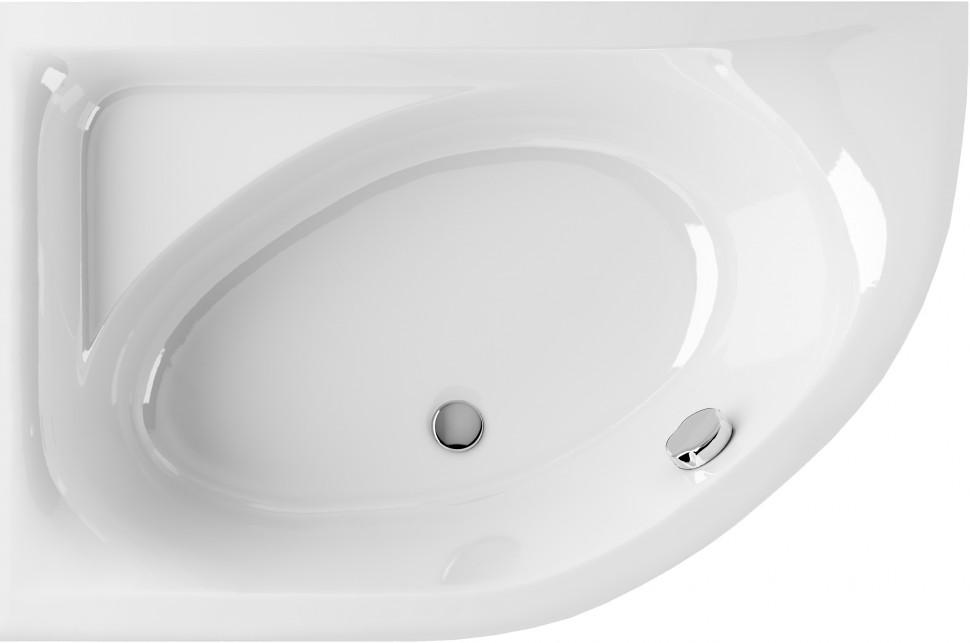 Фото - Акриловая ванна 150х100 см левая Excellent Aquarella WAEX.ARL15WH акриловая ванна roca hall angular 150х100 левая zru9302864