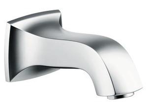 Излив для ванны 165 мм Hansgrohe Metris Classic 13413000 hansgrohe metris classic 31275000 для биде