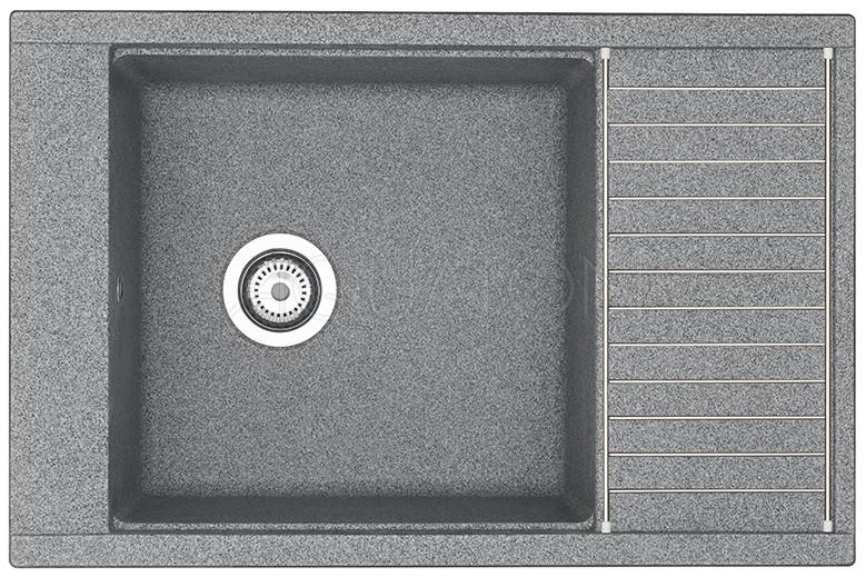 Кухонная мойка Акватон Делия серый 1A715132DE230 фото