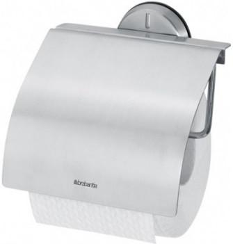 Держатель туалетной бумаги Brabantia Profile 427626 держатель для туалетной бумаги brabantia profile цвет черный 483400