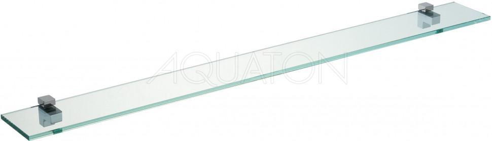 Фото - Полка стеклянная 110 см Акватон Отель 1A110503XX010 полка стеклянная 95 см акватон отель 1a110403xx010
