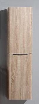 Пенал подвесной левый белый дуб BelBagno Ancona-N ANCONA-N-1500-2A-SC-WO-L шкаф пенал belbagno ancona n ancona n 1500 2a sc tl l