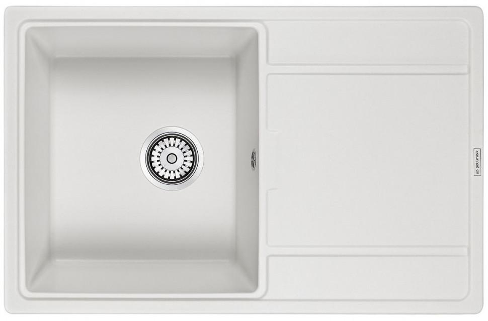 Кухонная мойка Paulmark Flugen белый PM217850-WH