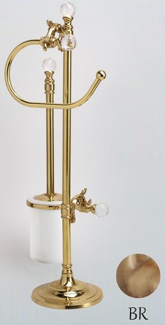 Комплект для туалета бронза Art&Max Barocco Crystal AM-1948-Br-C