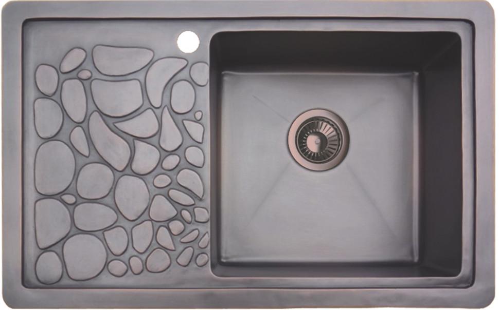 купить Кухонная мойка натуральная медь Omoikiri Takatsu R по цене 58888 рублей