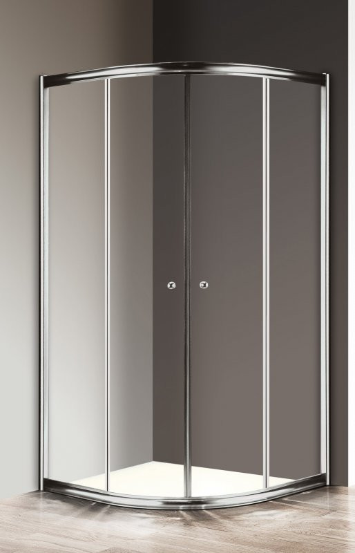 Душевой уголок 100х100 см Cezares GIUBILEO-R-2-100-SCORREVOLE-C-Cr прозрачное недорого