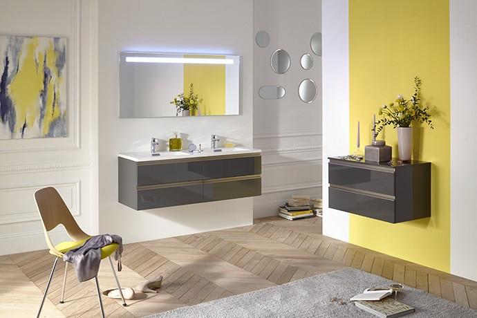 Зеркало со светодиодной подсветкой 130*65 см Jacob Delafon Parallel EB1419-NF