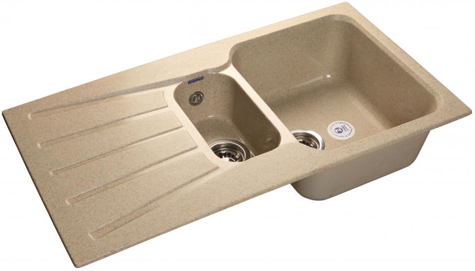 Кухонная мойка песочный GranFest Standart GF-S940KL