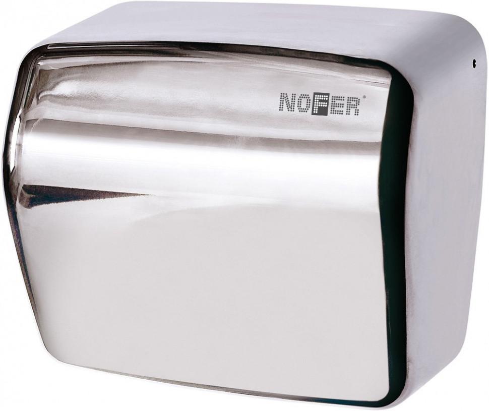 Сушилка для рук хром Nofer Kai 01251.B автоматическая сушилка для рук nofer kai 1500 w глянцевая 01251 b