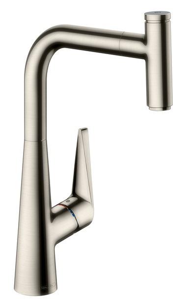 Смеситель для кухни 300 с выдвижным изливом Hansgrohe Talis Select M51 72821800 фото