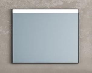 Зеркало 100х80 см черный Kolpa San Gloria OGG BLC