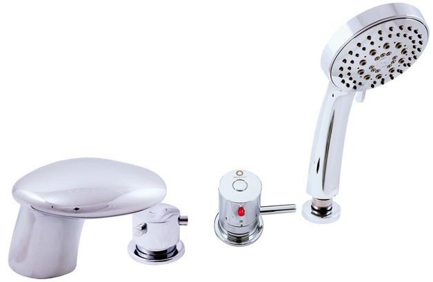 Смеситель на борт ванны термостатический Rav Slezak Dunaj DT271.5P