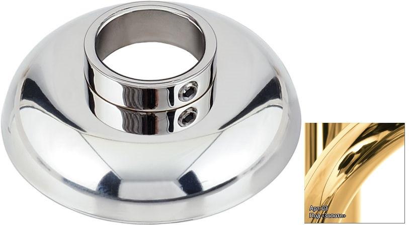 Отражатель декоративный d - 33,7 мм золотой Сунержа 03-1028-0003
