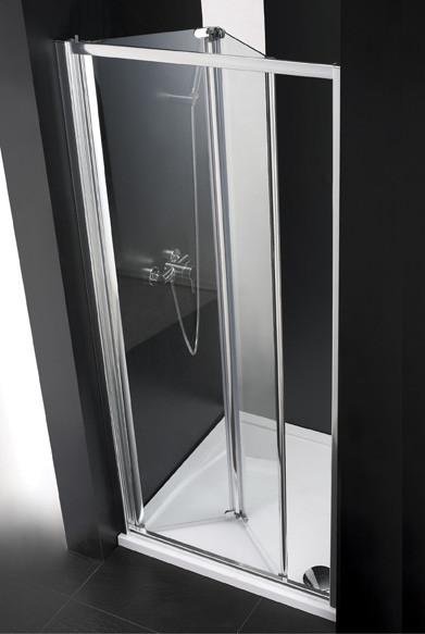 Душевая дверь складная Cezares Anima 90 см прозрачное стекло ANIMA-W-BS-90-C-Cr