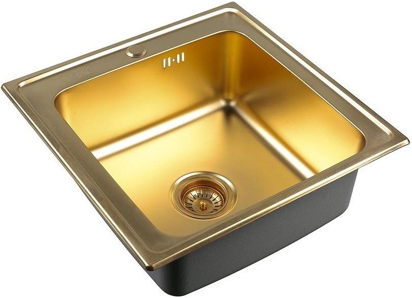 цена на Кухонная мойка Zorg Inox PVD SZR 5050 BRONZE