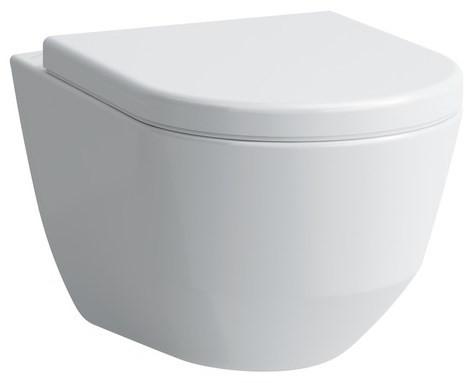 Унитаз подвесной со скрытым ободком Laufen Pro New 8209660000001 шкаф пенал laufen pro new 35 подвесной l белый матовый